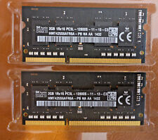 4GB (2 x 2GB)  RAM for Macbook Pro / iMac or Mac Mini  - PC3L-12800S-11