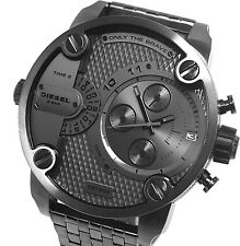 NEW DIESEL DZ7263 MENS BABY DADDY CHRONOGRAPH WATCH - 2 YEAR WARRANTY