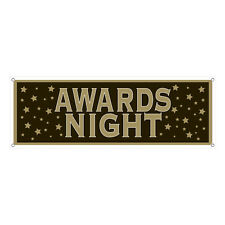 Beistle 57652 Awards Night Sign Banner Pack of 12