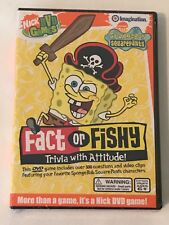 SpongeBob SquarePants DVD Game - Fact or Fishy, Trivia with Attitude!, Nick