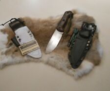 Ka Bar Becker  BK2  Leather Belt loop backer ,  ferro rod loop for kydex sheath