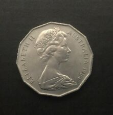 1984 AUSTRALIAN 50 CENT COIN - EF