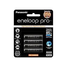 4x Panasonic Eneloop Pro 950mAh AAA High Capacity Rechargeable Batteries New DF