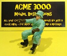 Britains 9679 9681 Reproduction Repro German Dispatch Motorcycle Rider Figure