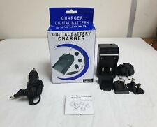 DIGITAL BATTERY CHARGER FITS SON. FM SERIES  CAMCORDER / DIGITAL CAMERA BATTERY