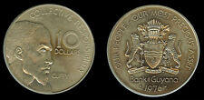 Guyana 1976 fm 10 Dollars, Ext. Rare, Mintage 300, Est. Less than 25 Released