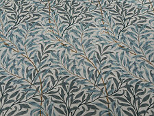 William Morris Fabric 'Willow Boughs' 0.6 METRES (60cm) Cream/Green  Linen Union