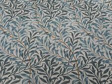 William Morris Fabric 'Willow Boughs' 0.6 METRES (60cm) Cream/Green  Linen Union