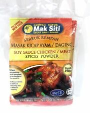Mak Siti (soy sauce chicken/meat spice powder)tasty!!!
