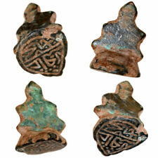 INTACT MEDIEVAL ISLAMIC OR OTTOMAN BRONZE SEAL PENDANT