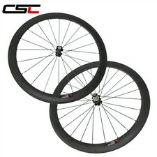 Factory price 50mm clincher carbon road bicycle wheels for Shimano or campagnolo