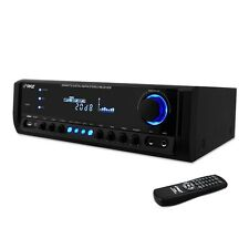 PYLE 4 CHANNEL HOME STEREO AM/FM RECEIVER AMP AMPLIFIER USB/AUX MP3/MIC INPUTS