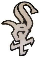 New MLB Chicago White Sox logo embroidered iron on patch. 3 x 4.5 inch (i40)