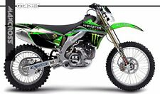 KAWASAKI KLX450R 2008 2009 2010 2011 2017 MAXCROSS GRAPHICS KIT FULL MSP-STYLE-2