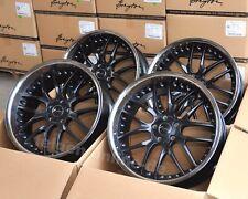 Breyton Race GTR schwarz Felgen mit Tiefbett 9 + 10x21 Zoll für BMW 6er F12 F13