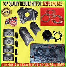 FOR CELICA 1.8 1ZZ 99> PISTON / RINGS WATER OIL PUMP HEAD GASKET REBUILD KIT