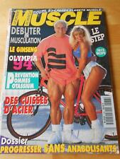 LE MONDE DU MUSCLE #138 magazine/LAURIE DONNELLY & TOM PLATZ 11-94 (Fr)