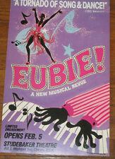 """1978 poster Eubie BLAKE 22x14"""" Arlene Gaston Art Chicago Studebaker Theater"""