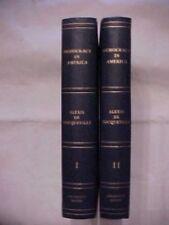 DEMOCRACY IN AMERICA VOLUME I & II by ALEXIS DE TOCQUEVILLE; ARLINGTON HOUSE
