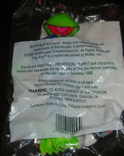 "BLOCKBUSTER MUPPET STARS OPENING NIGHT KERMIT THE FROG IN TUXEDO 7"" PLUSH TOY"