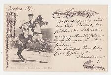 Biskra,Algeria,Sahara,No.Africa,Cavalier Arabe,Used,1902