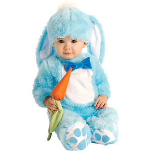 Rubie's Handsome Little Wabbit Baby Toddler Blue Rabbit Bunny Costume