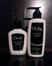 BUNDLE DEAL Olay Age Defying CLASSIC spf 15 Daily RENEWAL LOTION + CLEANSER