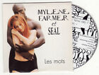 CD SINGLE MYLENE FARMER ET SEAL-LES MOTS-FRENCH
