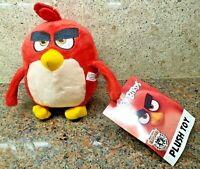 New Angry Birds 2 Movie Red Plush Stuffed Doll Figure Toy Factory Rovio Game NWT