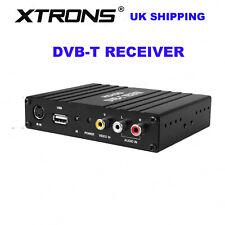 XTRONS In Car Dual Twin Antenna Freeview DVB-T Box MPEG-4 Digital TV Receiver