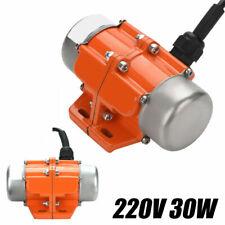 Vibrationsmotor 30W Unwuchtmotor Asynchronous Vibrator Motor 220V einphasig #