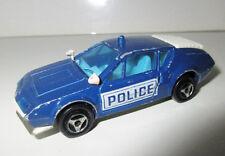 VEHICULE VOITURE MAJORETTE N°264 MINIATURE CAR - ALPINE A 310 POLICE