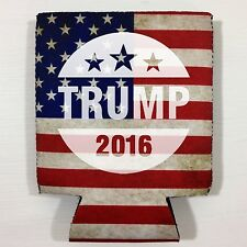 NEW Donald TRUMP Gift beer Drink can Koozie drink Coozie USA Flag