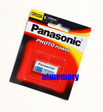 Panasonic CR123 CR123A CR17345 EL123AP 3V BATTERY 1pc