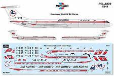 Revaro Decal IL-62M Air Koryo for Zvezda model kit 1/144