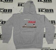 Ready Fight Street Fighter Video Game Style Hoodie Hooded Sweatshirt Medium M