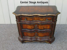 58860 Inlaid Hooker Furniture Bachelor Chest Dresser Nightstand