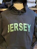 "VERY COOL ""JERSEY "" STATE HOODED/HOODIE____NJ  NEW SWEATSHIRT"