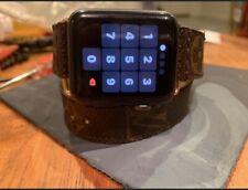 Apple Watch Series 3 42mm Space Gray Aluminium Gps + Cellular W/ Louis Vuitton