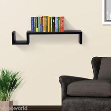 Estantería de pared Librería Organizador Flotante Almacenamiento Cologante shelf