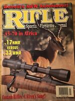 Rifle Magazine Jan 2004, Benellis Auto Loading Rifle, The .45-70