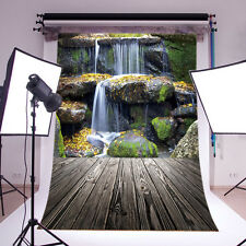 Waterfall Vinyl Studio Backdrop Photography Prop Photo Background 3X5FT M11