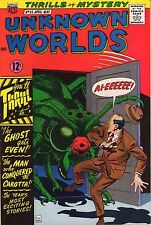 Unknown Worlds #55 - Giant Bug Monster Cover - 1967 (8.0/8.5) WH