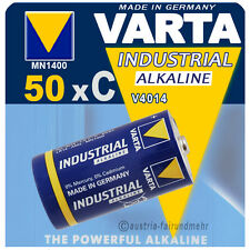 """50x VARTA Batterie 4014 BABY C LR14 MN1400 INDUSTRIAL"