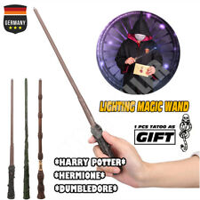 Harry Potter Zauberstab Hermine Dumbledore LED Licht Magie Wand Cosplay in Box