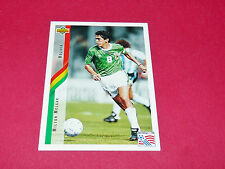 MILTON MELGAR BOLIVIA FIFA WC FOOTBALL CARD UPPER USA 94 PANINI 1994 WM94