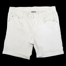 Gr. 54 Damen stretch jeanshose halbhose kurzhose jeans Bermudas Hose Shorts