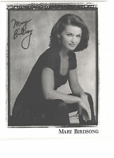 Mary Birdsong Signed Autograph 8x10 picture- B/W Preprint