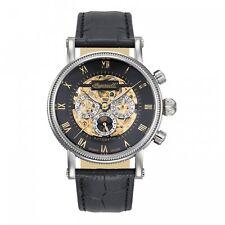 Ingersoll Reloj Hombre Automático IN7910BK Alaska II,Esqueleto,Fecha,Día,24 h,
