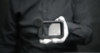 Genuine GoPro Hero 9 Black Camera Media Mod - 'The Masked Man'